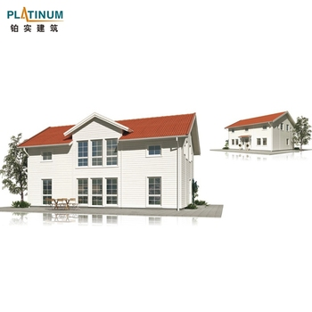 European style light steel villa meet global regulations