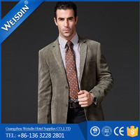 Business suits wholesale wool/cotton bespoke tailored suits