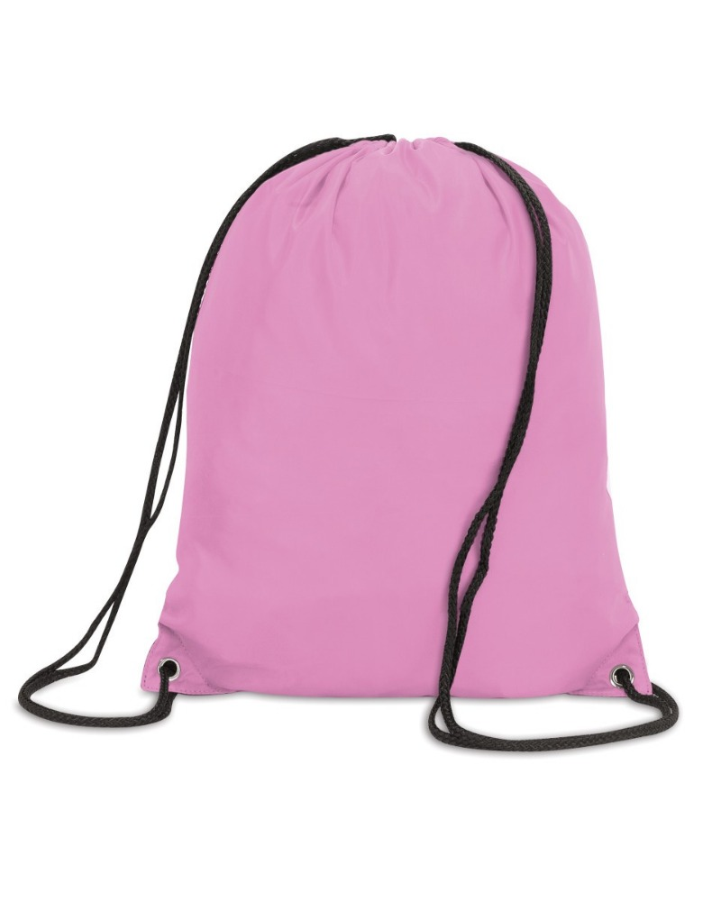 ECO cotton PINK backpack drawstring bags FOR shoes