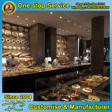 Shopping mall fast food counter design