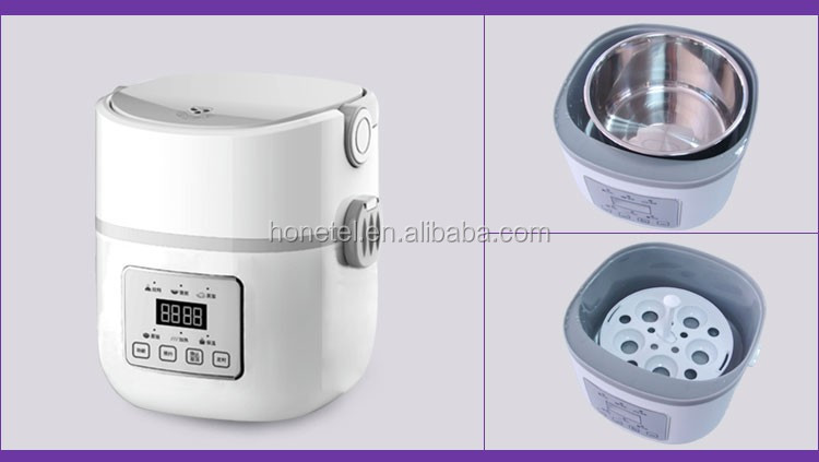 2019 NEW ARRIVAL japanese HTF-3005 DIY factory Smart Control Electric Heated Lunch Box Mini Rice Cooker