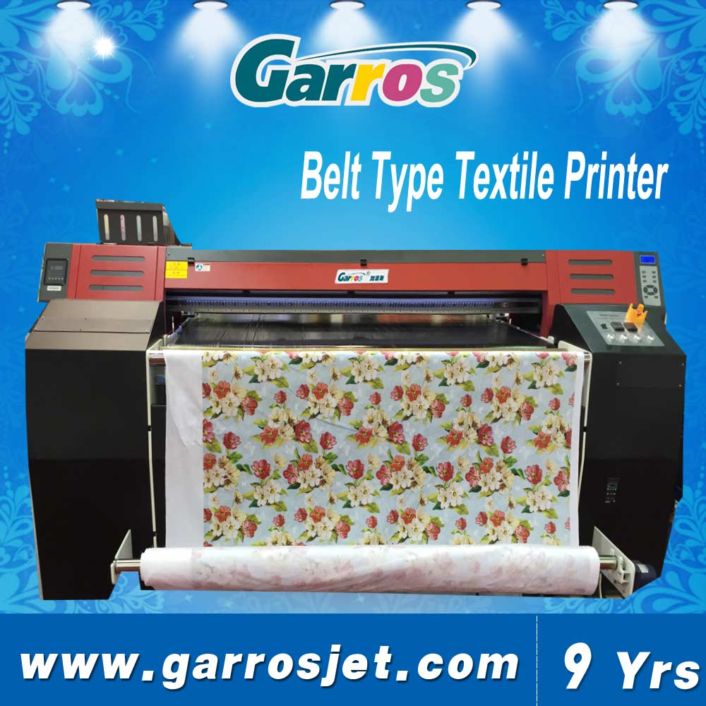 Atexco digital textile belt printer with double dx5/dx7 printheads 1.8m/1.6m printing width