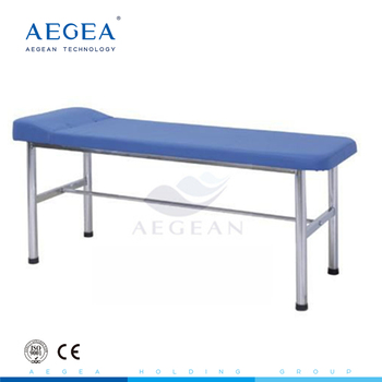 AG-ECC06 portable clinic medical stainless steel examination couch