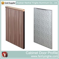 2015 New Design Aluminium Kitchen Cabinet Door
