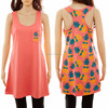 Monorgammable Women Beach Pineapple Tank Dress