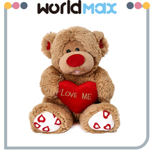 New Arrival Soft Cartoon Plush Toy Heart Monkey For Baby