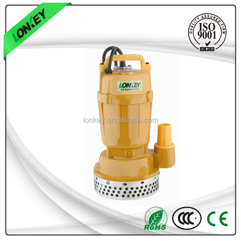 Farm irrigation machine single-stage submersible pump