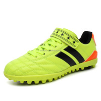 Buy Green color kids shoes , newest soccer shoes, Top quality kids ...