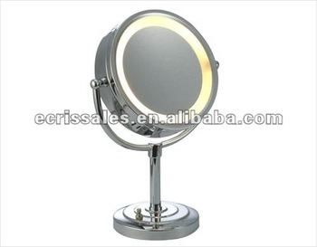 glass led makeup mirror,beveled led cosmetic mirror,hotel led compact mirror