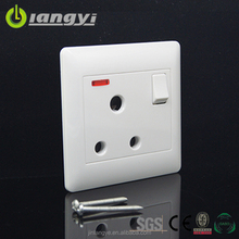 China Manufacturer Hot Sale Electric 15A Round Mutil Pin Wall Socket Switch