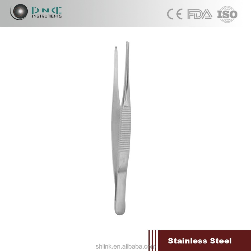 Medical dental needle holder Forcep Tissue Toothed