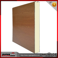 China manufacturer supply PU sandwich garage door panel second hand