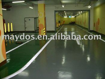 maydos scratching resistance epoxy floor paint/coating for concrete floor decoration