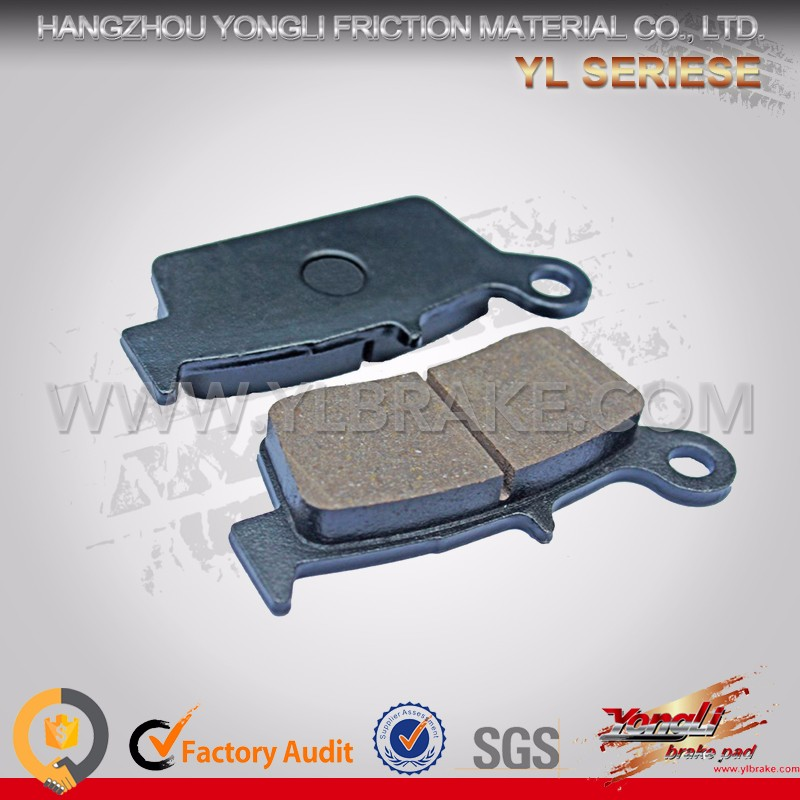 YONGLI YL-F017 Customized Brake Pad Factory