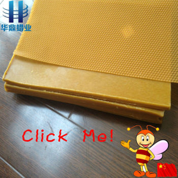 high refined natural bulk pure beeswax