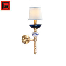 E14 light bulbs New European copper wall lamp for indoor lighting decorative CE Rohs