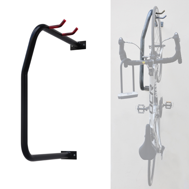 Portable U Style Verticle Wall Mounted Bike Rack