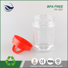 best price packaging pet universal bottle bpa free food grade plastic bucket barrel