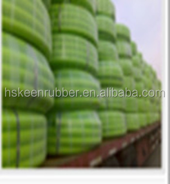 HDPE flexible twin wall double wall corrugated perforated pipe for water drainage tube