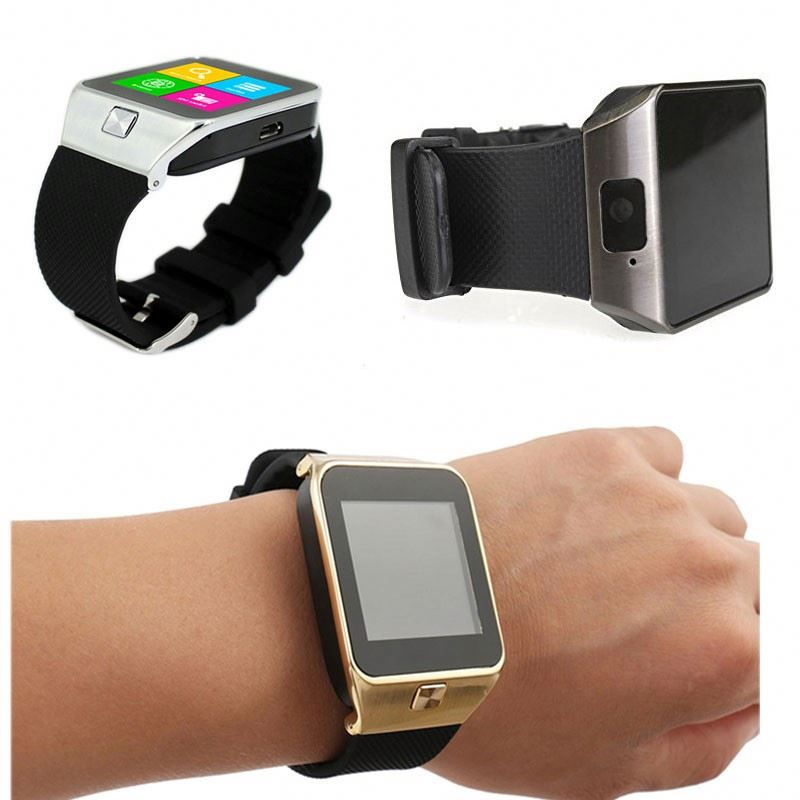Sport Wristband DZ09 Rechargeable Wrist phone watch android smart watch for IOS for Andriod mobile phone