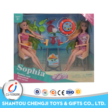 China manufacture plastic girls funny fashion life size child doll