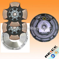 107237 kit eaton stamped cover 2 discs 14'' ceramic mack clutch kit