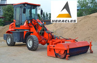 HERACLES HR1500 telescopic boom kawasaki wheel loader