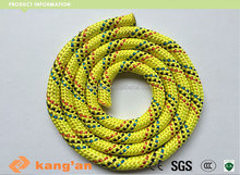braided Polyamide rock climbing rope