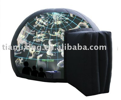 Mobile Planetarium Projector with Fish Eye Lens for Sale