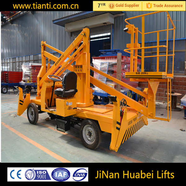 useful truck mounted boom lift with ce iso