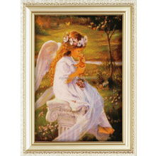 Handmade craft Angel pattern diy cube diamond painting