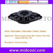 high quality auto rubber shock mounting manufacturer OEM 55320-4Z000 55320-4Z001 904955 K90326
