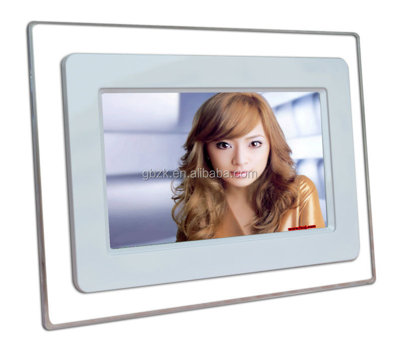 7 to 82 inch lcd advertising monitor with cf/sd card