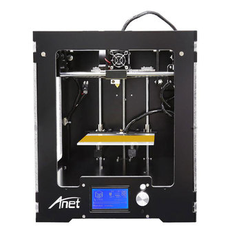 High Precision Full Metal Assembled Anet 3D printer Aluminum Hotbed With PLA Filament