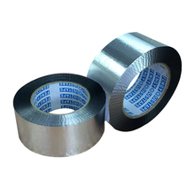 Heat Resistant Acrylic Sticky Foil Tape For Insulation Seams