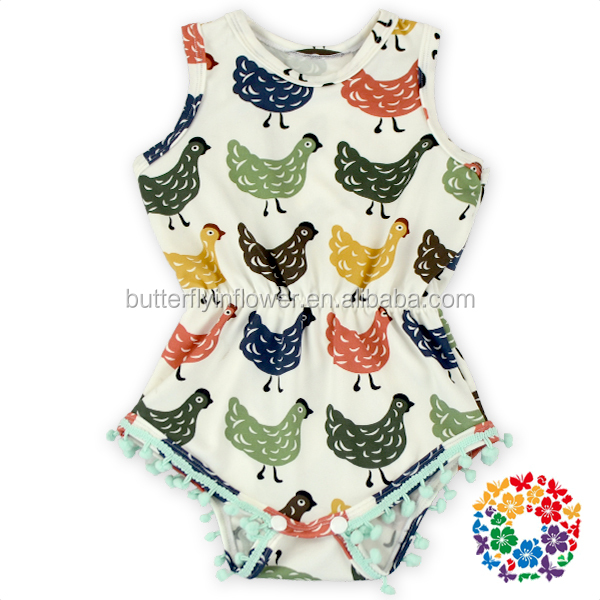 New Stylish Newborn Baby Clothes Baby Bodysuits Wholesale Baby Floral Romper