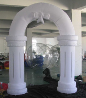 Christmas inflatable decoration inflatable led arch K4008