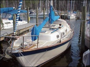 Blue Water Sailing Vessel