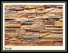 Factory sales light weight durable exterior decorative wall stone