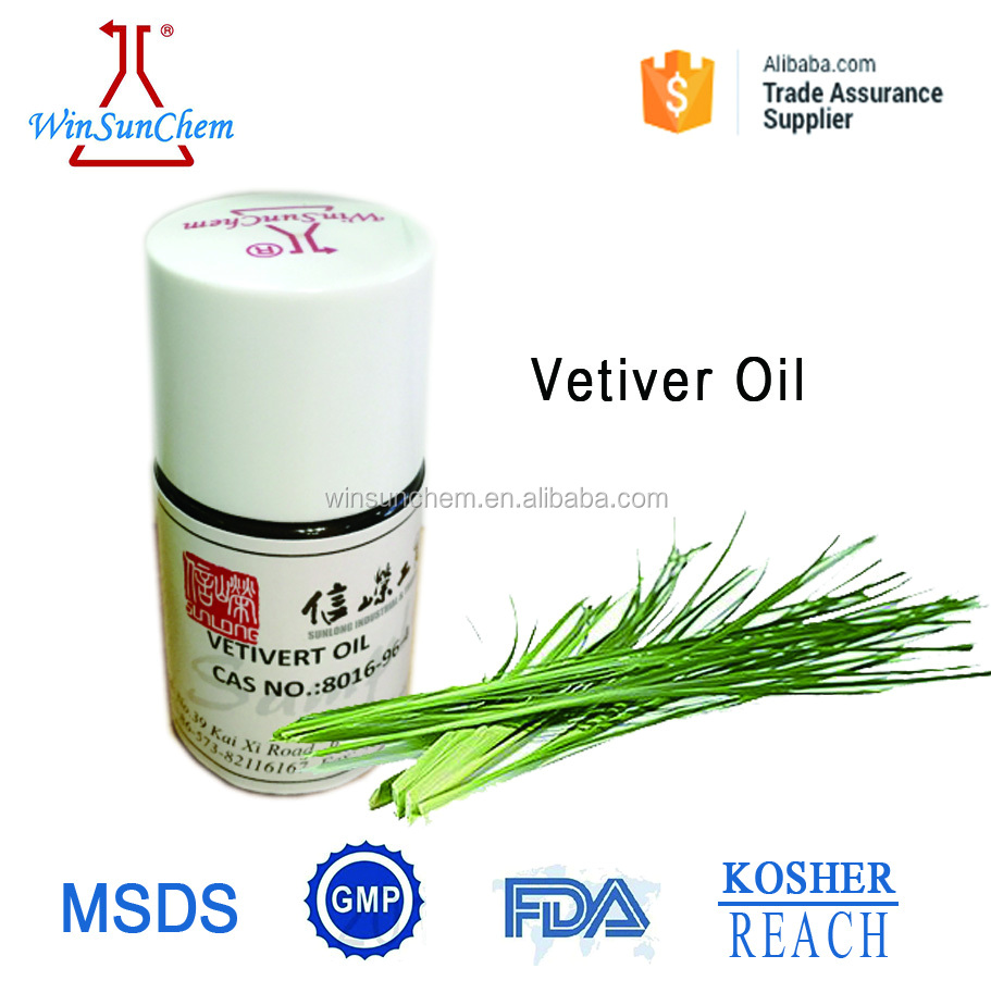 Manufacturer Essential Oil Perfume Vetiver Oil Pure Natural Vetiver Oil