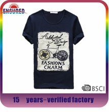 Hong kong most popular factory price printing t shirt