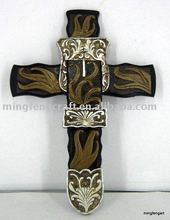 Polyresin Religious Cross Hanger Decoration Craft