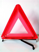 traffic road safety LED warning triangular signs