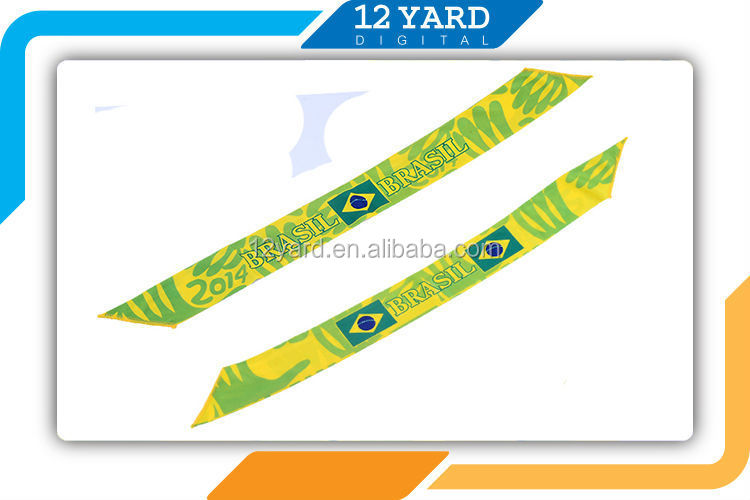 Factory sell multifunctional printed polyester elastic headbands for sport