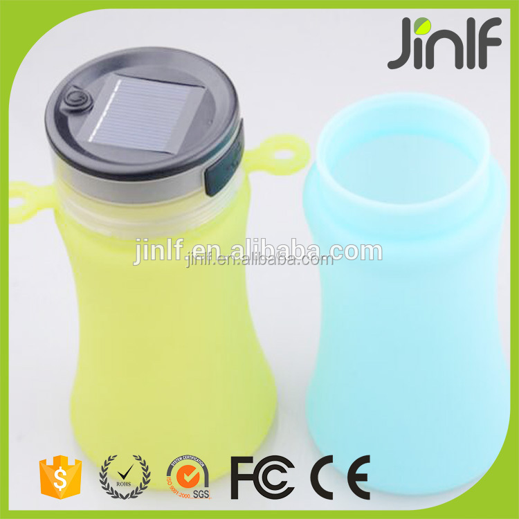 silicon squeeze bottle and Flexible Silicon Sports Water Bottle