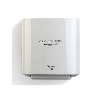 Wall mounted low noise automatic electric hand dryer