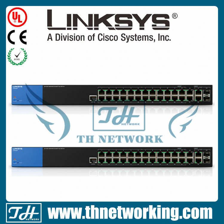 Original new Linksys Unmanaged Gigabit Switch LGS116P