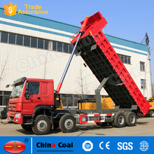 Durable With Acceptable Prcie 8X4 Self Loading Container Trailer/ Sand Tipper Dump Truck For Sale