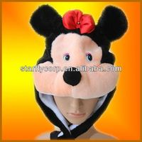 plush animal toy hats manufacture directly selling (ST-H1531)