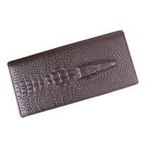 China Alibaba Hot Selling Genuine Leather Branded Leather Men Wallet